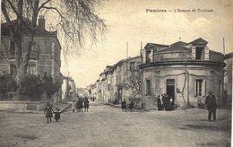 Carte POSTALE Ancienne De  PAMIERS - Avenue De Toulouse - Pamiers