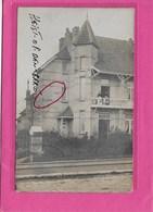 HEIST-OP-DEN-BERG: FOTOKAART VILLA PAULINA--1911-MET VOLK - Heist-op-den-Berg