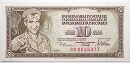 Yougoslavie - 10 Dinara - 1978 - PICK 87a - NEUF - Yougoslavie