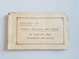A 2741 - Carnets 10 Cartes Institut Chirurgical Saint Joseph Etterbeek - Etterbeek