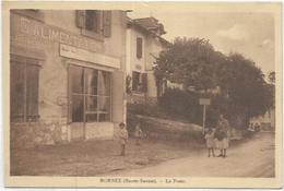 74.  MORNEX.  LA POSTE ET LE MAGASIN D ALIMENTATION - Francia