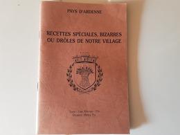 Livret Pays D'Ardenne Recettes Spéciales - Gastronomie