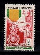 Nouvelle Calédonie YV 279 N* (légère) Medaille Militaire Cote 8,90 Euros - Unused Stamps