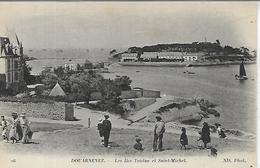 29, Finistère, DOUARNENZ, Les Iles Et Saint-Michel, Scan Recto Verso - Douarnenez