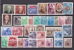 DDR - 1953/54 - Sammlung - Gest./Ungebr./Postfrisch - Gebraucht