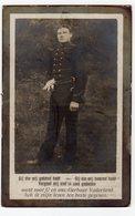 Bidprentje Oorlog Guerre War WOI Georges DE CLERCQ Soldaat Mittrailleur Regiment Grenad. +02-10-1915 Gesneuveld Dixmuide - Images Religieuses