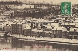 55  SAINT MIHIEL L'hiver à Saint Mihiel Crue De La Meuse  Les Capucins Quartier De La Halle    ...CL - Saint Mihiel