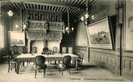 026 208- CPA - Belgique -  Kortrijk - Courtrai - Cheminée De La Salle échevinale - Kortrijk