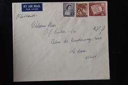 A 16 ++ AUSTRALIA 1960 BRIEF NAAR NEDERLAND - 1952-65 Elizabeth II : Pre-Decimals
