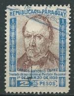 Paraguay   Yvert N°   369   Oblitéré   -   Ai28825 - Paraguay