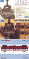 3 Carte Prépayée JAPON Différentes * CHEMIN DE FER (LOT TRAIN A-431 JAPAN * 3 TRAIN DIFFERENT PHONECARDS - Eisenbahnen