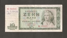 DDR GERMANIA 10 MARK 1964 - 10 Mark
