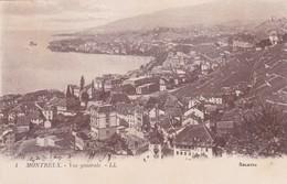 MONTREUX - Vue Générale - VD Vaud
