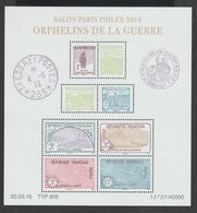 BLOC  FEUILLET  -  F 5226  -  2018  -  Salon Philatélique Paris - Philex 2018     -  Neuf  -   Non Plié  - - Mint/Hinged