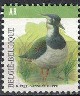 Belgique 2013 Used Bird Oiseau Vanneau Huppé Vanellus Vanellus - Belgium