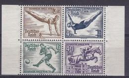 Empire > 1933-1945 (IIIe Reich) Postfrisch N° 624** à N° 627**  (block N°5)       TB  (N° Katalog MICHEL) - Neufs