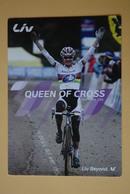 CYCLISME: CYCLISTE : MARIANNE VOS Format :12.5 X 17.5 - Cyclisme
