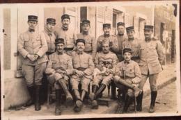 Carte Photo, Soldats Du 221 ème (cachet Briolay Photo,Beaumont Sur Oise 95, Vald'Oise),1919 De Toulouse, Militaria - Militaria