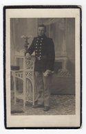 Bidprentje Oorlog Guerre War WOI Gustaaf-Frans DEVROE Soldaat 24 Ste Linie+23-09-1917 Gesneuveld Te Wulveringhem - Images Religieuses