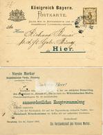(Lo4091) Altdeutschland Ganzs. Bayern St. Nürnberg Hauptversammlung - Germany