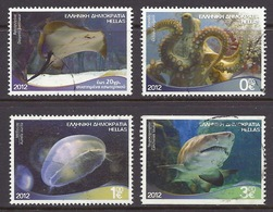 Greece - 2012 Fauna, Marine Life, Sea, Fish, Fishes, Used - Griekenland
