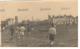 VENEZIA - S.ELENA O MURANO - Campo Di Calcio Con Partita In Corso Negli Anni'40 - Fotografia Privata - Venezia (Venice)