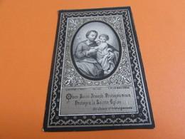 DOODSPRENTJE MARIA-THERESIA GOYERS - Images Religieuses