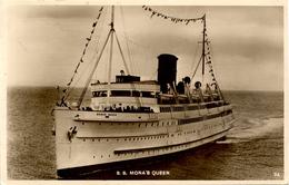 SHIPPING - IOM FERRY - SS MONA QUEEN RP Ss26 - Piroscafi