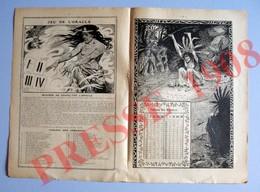 2 Scans Jeu De L'Oracle Divination Voyance Indiens Peaux-rouges Chaman Indien Chamanisme Bicyclette Cottereau 223CH25 - Vieux Papiers