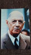 CPSM LE GENERAL DE GAULLE PRESIDENT DE LA REPUBLIQUE 1890 1979 PHOTO SLADE PARIS MATCH ED A CHAPEL - Storia