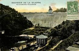 026 226- CPA - Belgique - Souvenir De La Gileppe - Vue D'ensemble Du Barrage - Gileppe (Barrage)