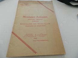 Monnaies Antiques  27, 28  Mars 1912    Rue  Drouot   Vente  Aux Encheres   Publiques - Boeken & Software