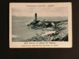 CHROMO - CHOCOLAT LANVIN N°615 : BREST : LE PHARE DU MINOU - Autres