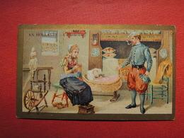 Chromo Pub. Verger. Extrait  LEBRUN. Pharmacie Fernand Lebrun. 36, Rue De La République  BOLBEC. En  HOLLANDE - Vieux Papiers