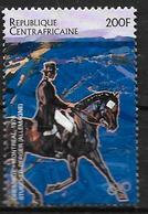 CENTRAFRIQUE   N° 1116B  * *    JO 1996 Hippisme  Stuecker Berger - Horses