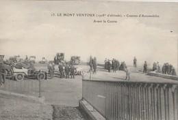 CPA 84 MONT-VENTOUX  AVANT LA COURSE D'AUTOMOBILES - France