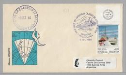 E5 - ARGENTINE Polaire PO 558 Du 12 Octobre 1986 USHUAIA. - Argentina