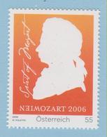 J.P.S. 7 -Musique - Timbre - Compositeur - N° 2 - Autriche- Mozart - N° Yvert 2400 - Musique