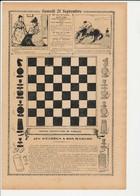 3 Scans Presse 1907 Jeu D'échecs Pas Cher Echiquier Comptable Des Joueurs De Boules De Saint-Mandé Jeu Pétanque 223CH25 - Vieux Papiers