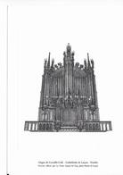 Gravure De L' Orgue De Cavaillé - Cathédrale De LUCON (la Poste) - Engravings
