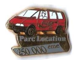 AB - R35 - RENAULT - COCA COLA -  PARC LOCATION - 250 000 ème - Verso : NUMEROTE : 024 - ARTHUS BERTRAND / PARIS - Arthus Bertrand