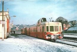 ( LANNION  )( 22 COTES DU NORD )( TRAINS EN GARE )( LANNION PLOUARET  1979 ) - Lannion