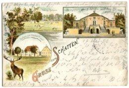 GRUSS VOM SCHATTEN - Ayant Voyagé En 1893 - Vari