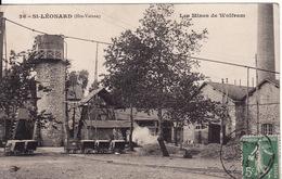 87 SAINT-LEONARD De NOBLAT Les Mines De Wolfram - Saint Leonard De Noblat
