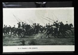 Environs Lisbonne (Lisloa)  - Groupe De Cavaliers Avec Piques - Coupure De Presse (encadré Photo) 1931 - Equitazione