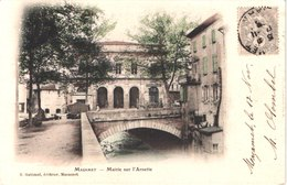FR81 MAZAMET - Précurseur Colorisée - Mairie Sur L'Arnette - Belle - Mazamet