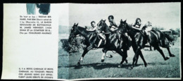 Le Touquet  - Entrainement Des Jeunes Jockeys  - Coupure De Presse (encadré Photo) 1936 - Equitation