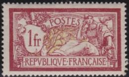 France    .   Yvert   .   121    .   *   .   Neuf Avec Gomme Et Charniere.   /   .  Mint-hinged - Frankreich
