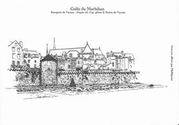Gravure Des Remparts De VANNES - 56 - (phil@poste) - Engravings