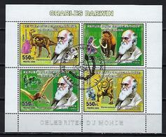 CONGO ANIMAUX PREHISTORIQUES 2006 (47) N° Yvert 1713 à 1716 Oblitérés Used - Democratic Republic Of Congo (1997 - ...)